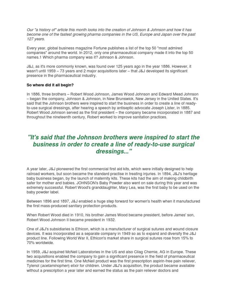 Audit Final | Johnson & Johnson | Preferred Stock
