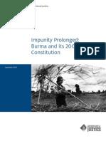 Impunity prolonged