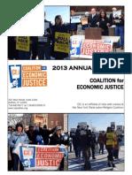 CEJ Annual Report 2013