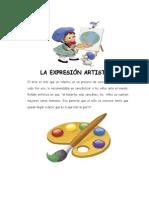 blog LA EXPRESIÓN ARTISTICA