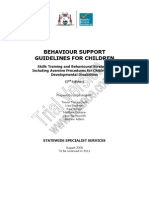 Behaviour Support Guidelines Children