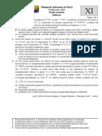 2005 Fizica Judeteana Subiecte Clasa a XI-A 0