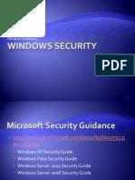 Windows Hardening