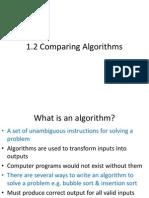 1.2 Comparing Algorithms2