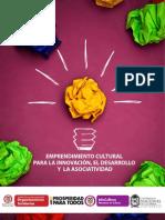 Cartilla_Emprendimiento Cultural Para La Innovacion Desarrollo Asociatividad (2013)