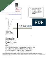 Nata Sample Papers
