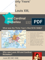 Thirty Years War, Louis XIII, and Cardinal Richelieu