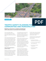 Traffic Safety Plans for Municipalities