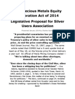 The-Precious Metals Equity Restoration Act of 2014