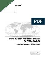 Notifier NFS-640 Install