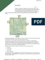 Customizing Your Map Extent