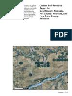 USDA Soil Report