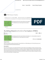 Building Attack in 4-2-3-1 Formation (FREE) - Pro-SoccerDrills