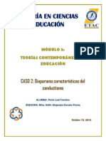Caso 2 diaporama características del conductismo  Perla Leal Fuentes