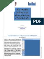 EasyMaint Vision Global Software de Mantenimiento