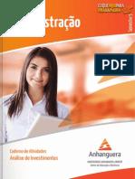 Caderno de Atividaes Analise_de_Investimentos