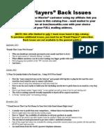 Copywriting Newsletter Catalog