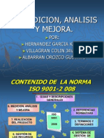 Sistema de Gestion de Calidad Medicion Analisis Mejora
