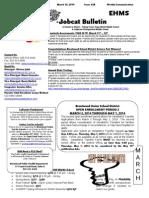 Bobcat Bulletin 3-10-14 English