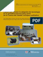 INTA Causas Afecta Adopcion Tecnologia Cuenca Del Salado