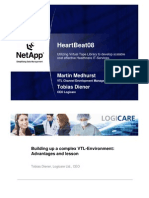 NetApp VTL by Martin Medhurst, VTL Channel Business Manager NetApp and Tobias Diener, CEO Logicare, Switzerland