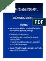 e.f.e. Discapacidad Sensorial Auditiva