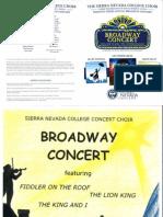 choir programs