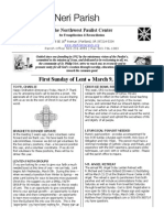 March 9 Full Bulletin