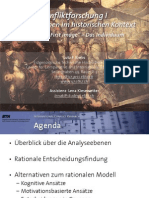 "Int. Konfliktforschung I - Woche 07 - ""First image"" / Das Individuum"