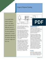 Organic Polymer Feeding (Lit)