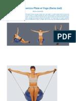 Ballon d'Exercice Pilates Et Yoga