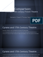17th vs 19th Century French Theatre Comparison