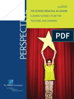 The School Principal as Leader Guiding Schools to Better Teaching and Learning 2nd Ed
