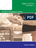 Living Wage 2012