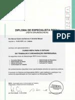 Certificado REFA I