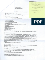 Clarence School Curriculum Letter March 2014