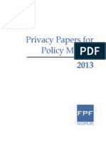 FPF Privacy Papers 2013