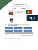 Ficha de Avaliação de Estudo do Meio 2013-2014 diana