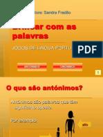 Gramatica Antonimos Sinonimos Autocorrecao