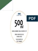 medalla 500mil