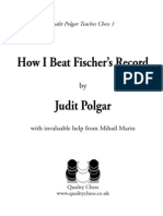 How i Beat Fischers Record Excerpt