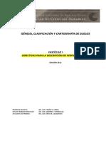 Genesis Clasificacion Cartografia Fasciculo I 2012