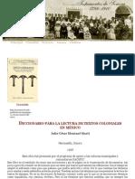 Testamentos de Sonora 1786-1910El Colegio de Sonora