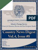 CERES News Digest - Week8, Vol.4, March 3-7