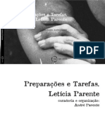 Leticia Parente Catálogo Paço das Artes