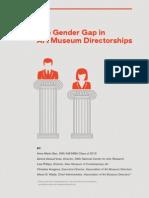 The Gender Gap in Art Museum Directorships
