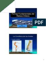 Formas Fundamentales Del Relieve Chileno