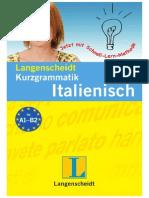 Langenscheidt Kurzgrammatik Italienisch PDF