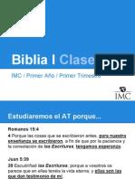 IMC - Biblia I - Clase 03