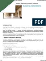 Histoire Et Doctrine de l'Espace Musulman _ Architecture, Histoire & Patrimoine